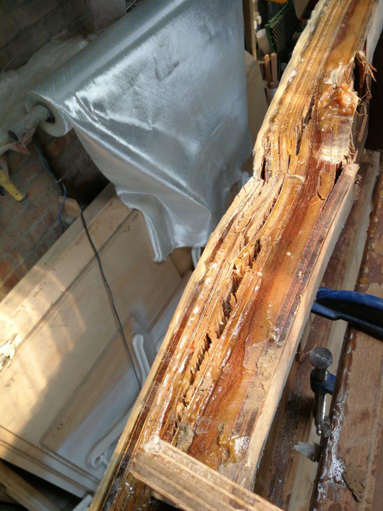 damage to hull
